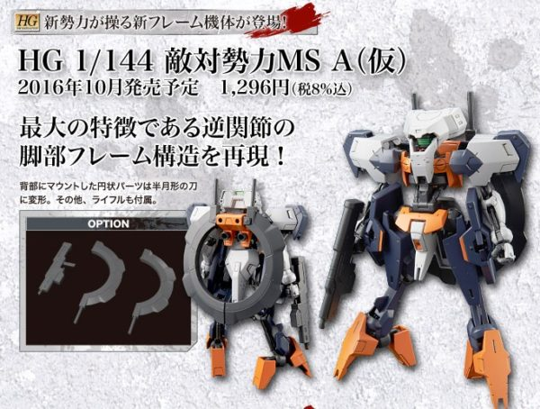 HG 1/144 Mobile Suit Unit A