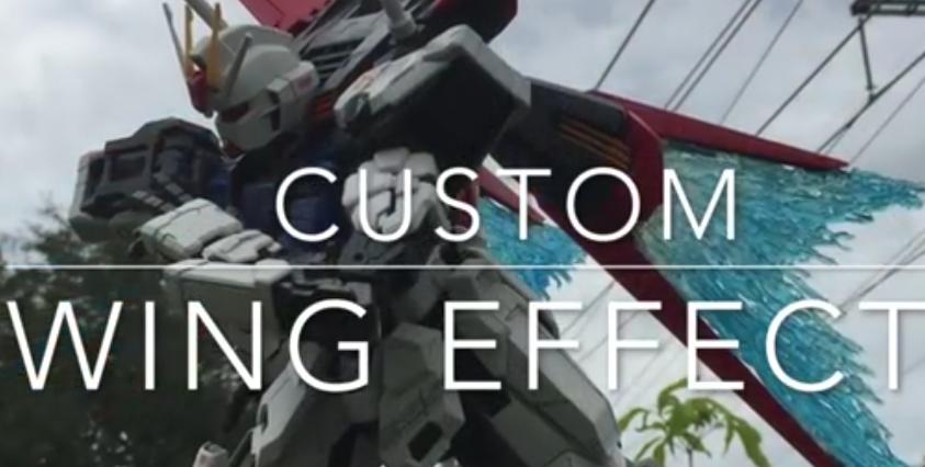 Custom Wing Effect