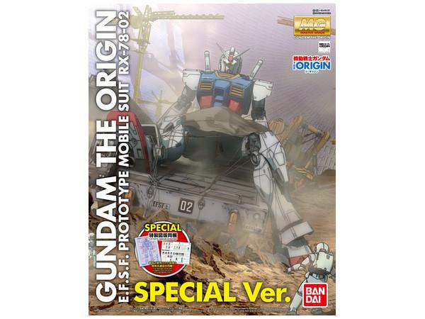 1/100 MG RX-78-02 Gundam (GUNDAM THE ORIGIN Ver) Special Edition