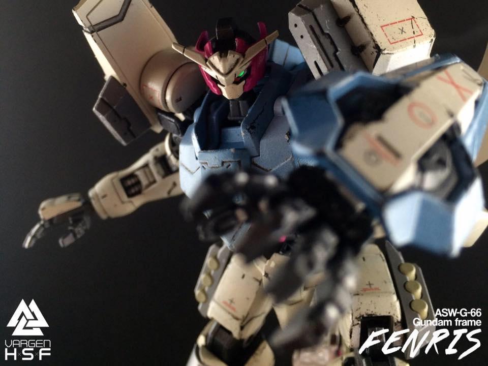 Fenris Gundam by Gunrunn3r