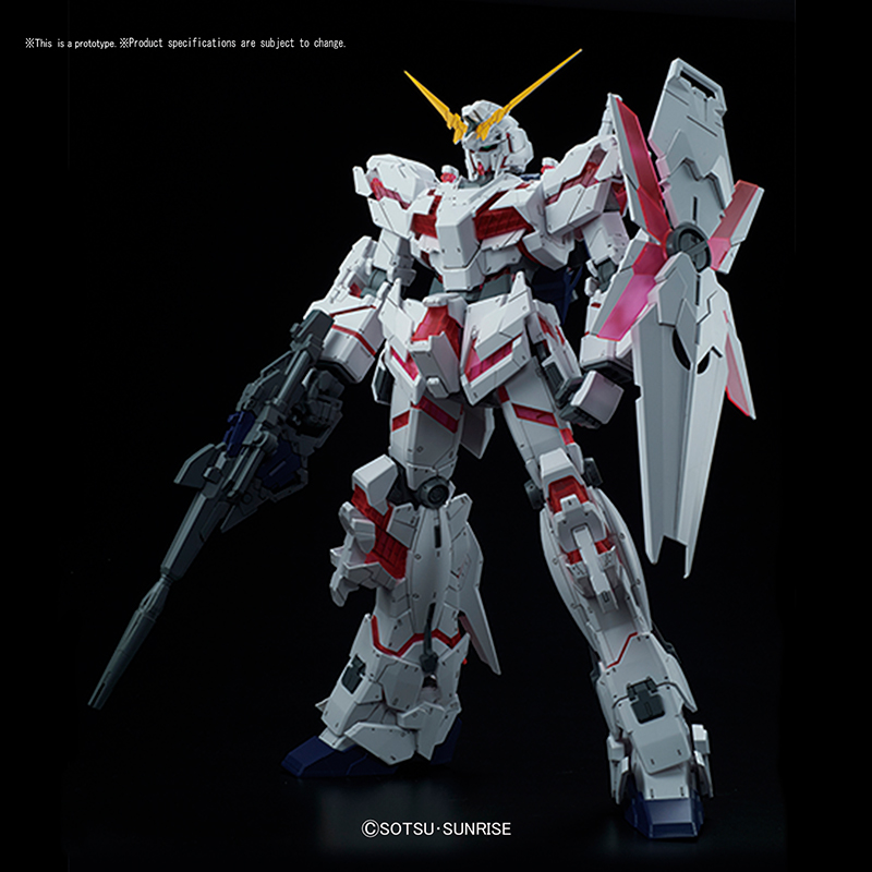 Mega Size Model Unicorn Gundam (Destroy Mode)