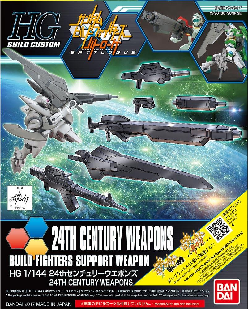 1/144 HGBC 24th Century Weapons