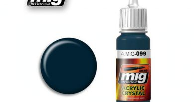 Vorrätig: Ammo by MIG – Crystal Black Blue 0099 – 17ml