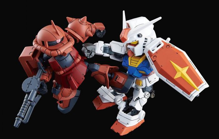 SD Gundam Cross Silhouette RX-78-2 Gundam & Char´s Zaku II – ab 21.90 EUR
