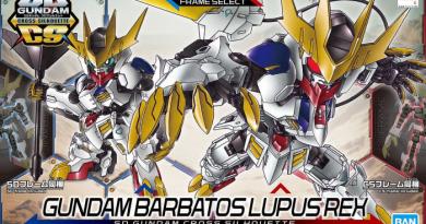 Vorrätig: SD Gundam Cross Silhouette Gundam Barbatos Lupus Rex