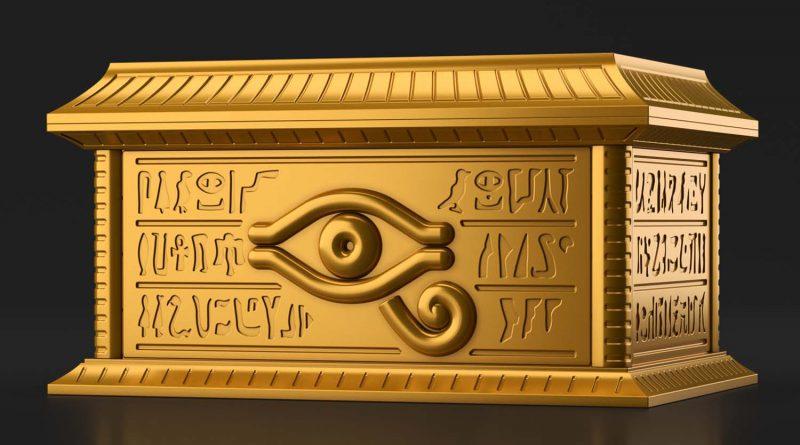 Ultimagear Millenium Puzzle Storage Box Gold Sarcophagus – ab 44.90 EUR